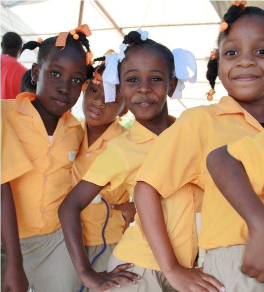Magical children of Haiti.