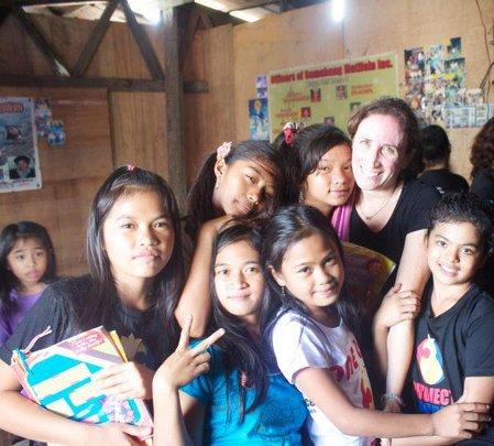 Pam With the Ulingan Girls LitClub