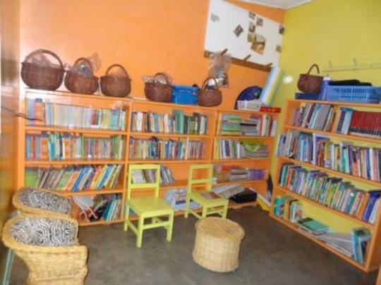 The New LitWorld Club Hub in Kibera