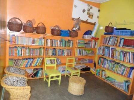 The New LitWorld Club Hub in Kibera