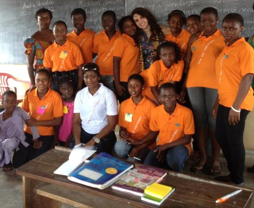 The LitWorld Team in Ghana