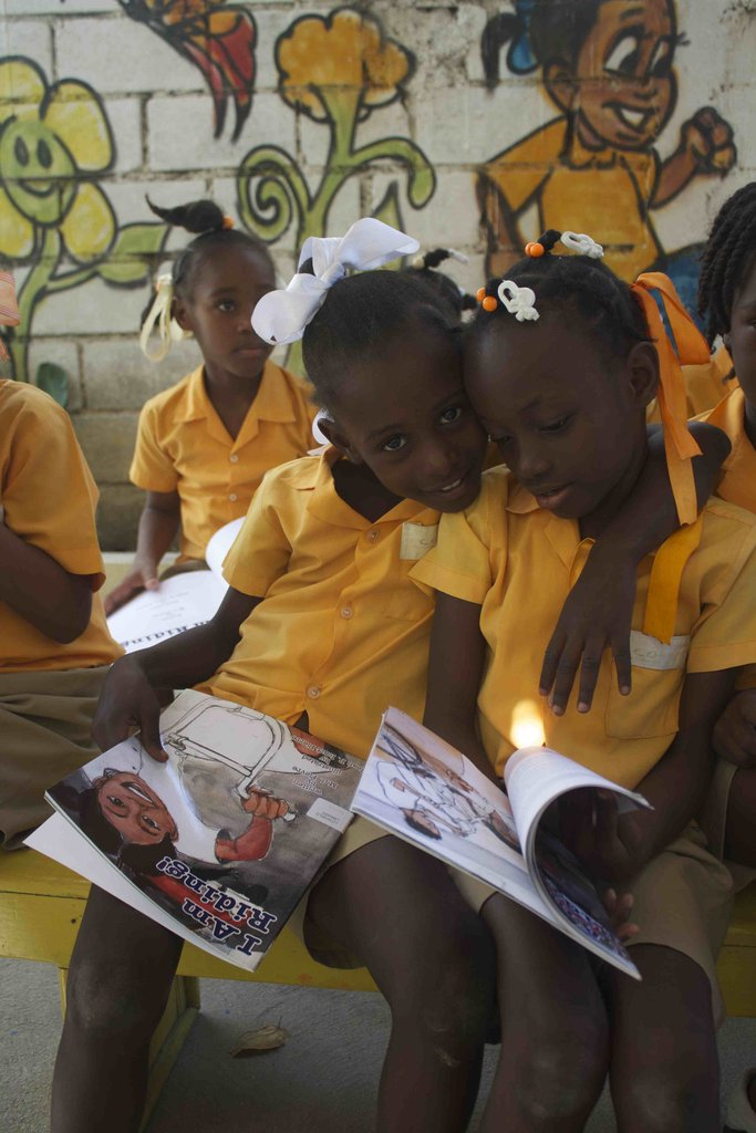 Reading Books in Haitian Creole
