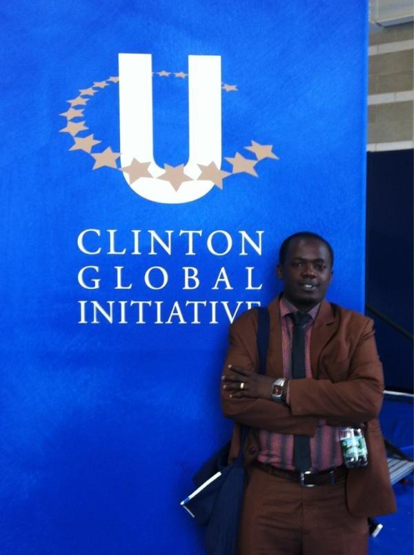 Vincent Ndebwnimana at CGIU