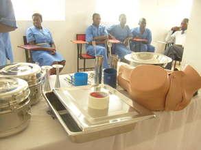 Students in practicals