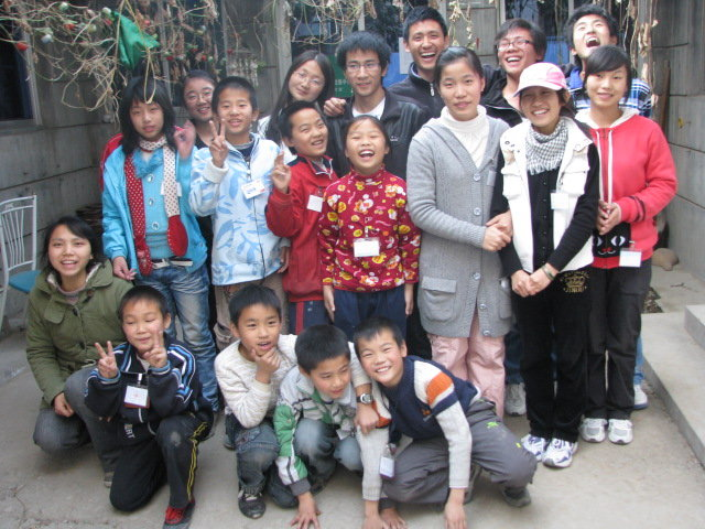 Provide hope to Chinese orphans through education