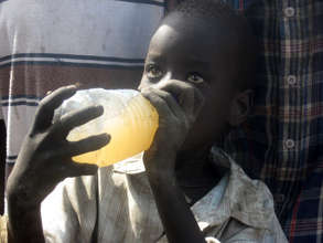 Drinking water in Sudan before the well