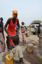 Women can now pump water instead of walking miles