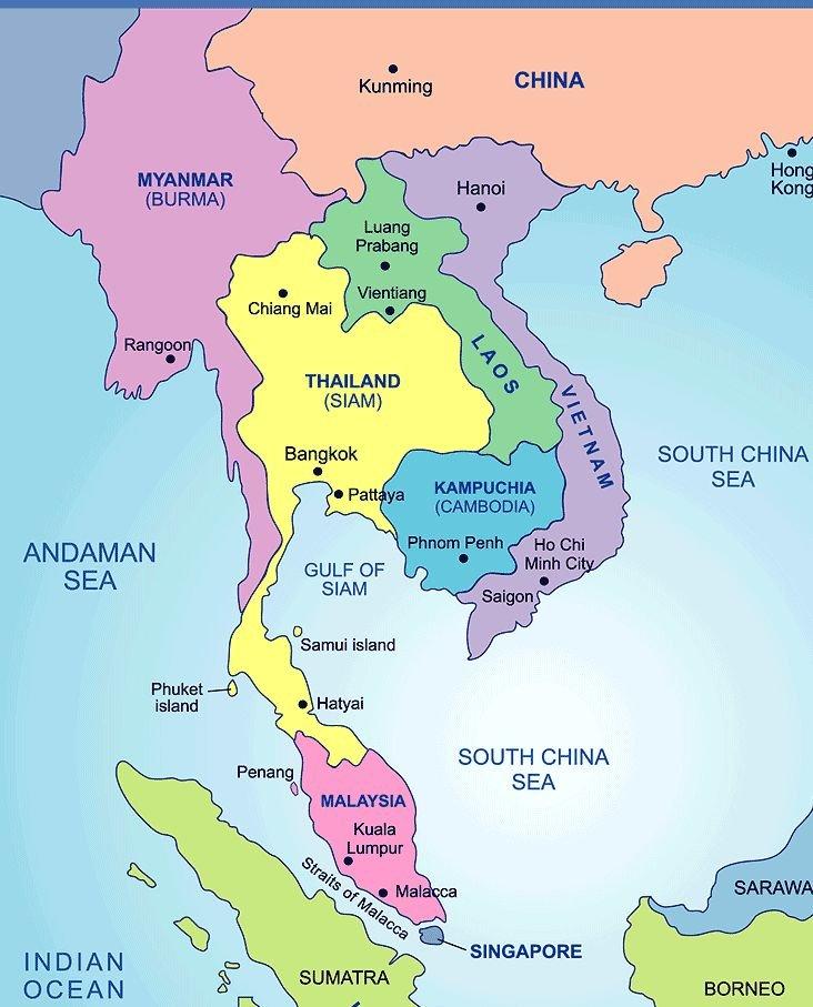 Burma Map