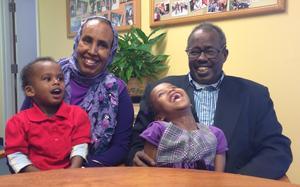 Said, Hodan and Family