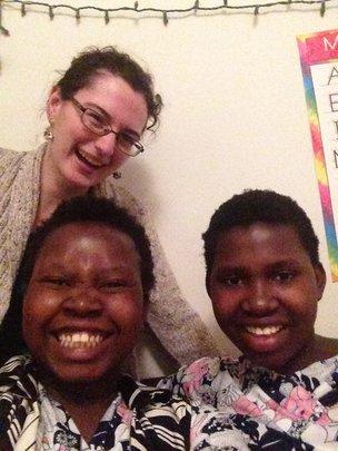 Juliana, Goreth, and her sister, Terezia