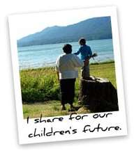 I Share for Our Children's Future...