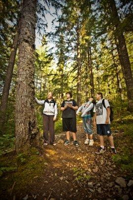 Students at Opal Creek
