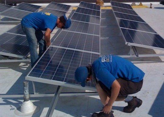 Oregon Clean Energy, solar installers