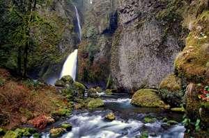 Wahclella Falls, Oregon