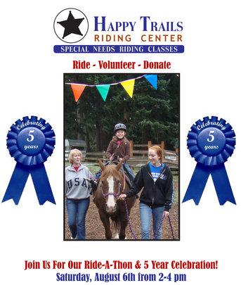5 Year Celebration  & Ride-A-Thon