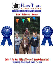 5 Year Celebration  & Ride-A-Thon