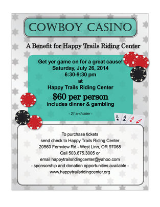 Invite to Cowboy Casino