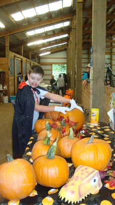 Fall Pumpkin Carving & Riding Camp