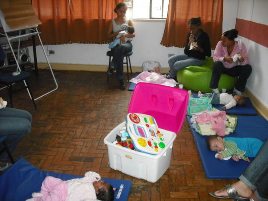 Teen Mother and Baby Group