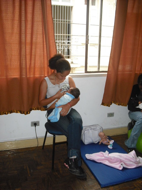 Change Lives of 100 High Risk Teen Mums in Brazil
