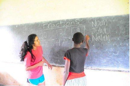Nalini teaches math