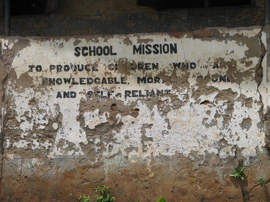 School Motto Living Onward