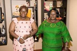 Chief Imo (coach) & Luisa E. (client, Eq. Guinea)