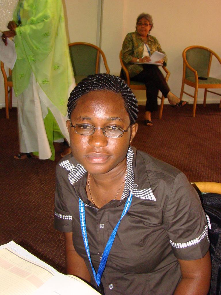 Suzzy, Ghana alumna