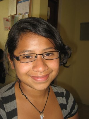 Amanda's New Glasses