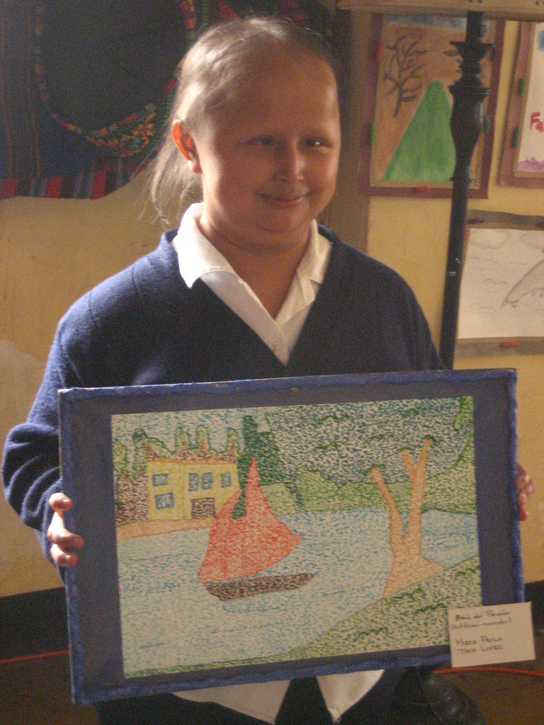 Mirza placed top 10 in Antigua art competition