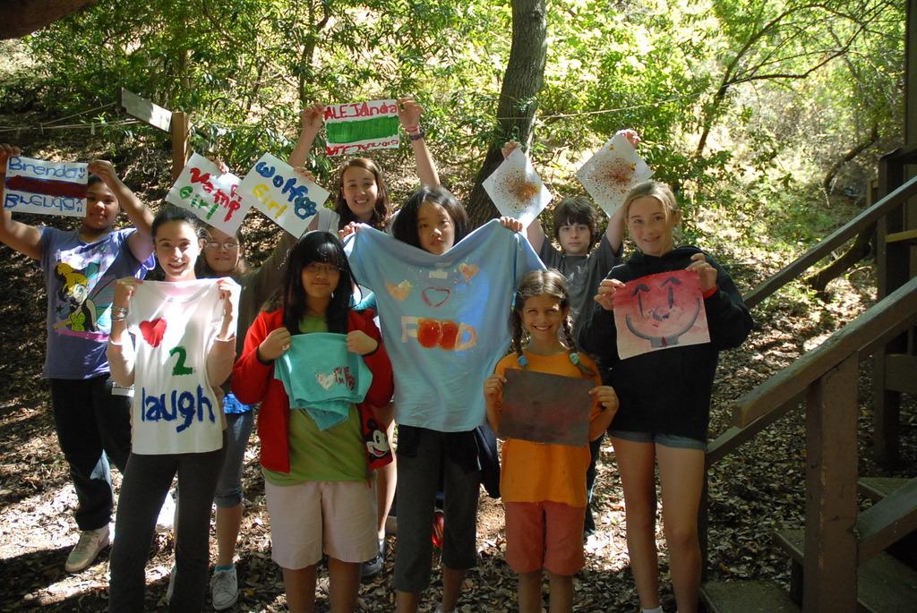 Art at Hidden Villa Summer Camp