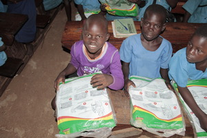 Children at Diima Primary school.