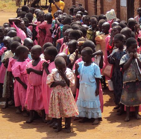 Primary school recipients in Katulikirie