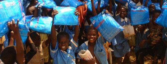 Nyamahasa Primary School. 1,350 Students Protected