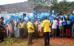 A Village of Recipients Celebrates their Bednets