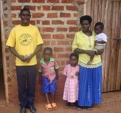 A Faimly of Ugandan Volunteers