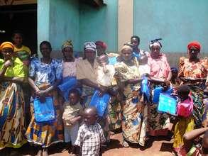 Distributing through Women's Groups