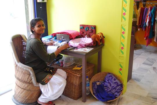 Monica, our new shop supervisor