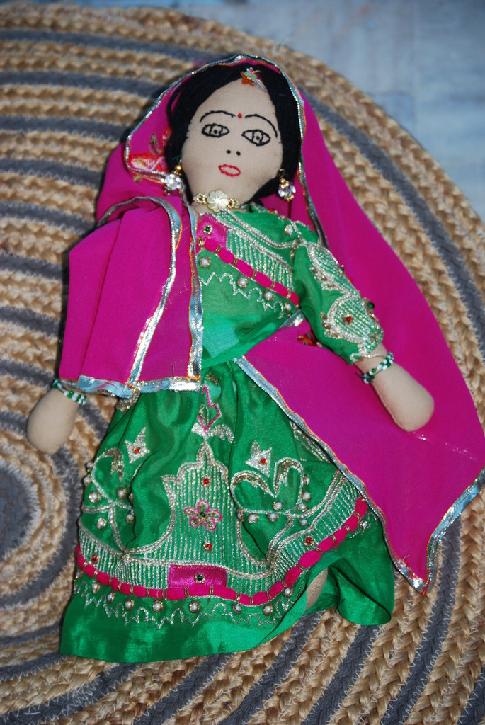 Doll made by graduates of Payal Empowerment Centre