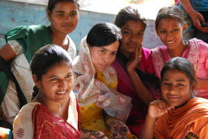 Girls at the Jodhpur Empowerment project