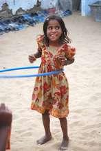 Vishnu playing her favourite game !