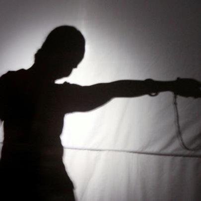 Shadow theatre performance