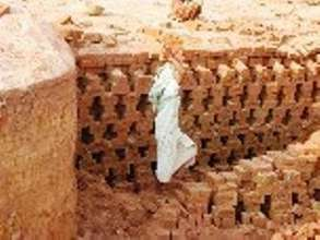 Brick Kiln Worker
