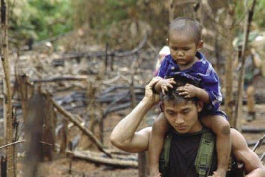 Villages burned.  Families lost.