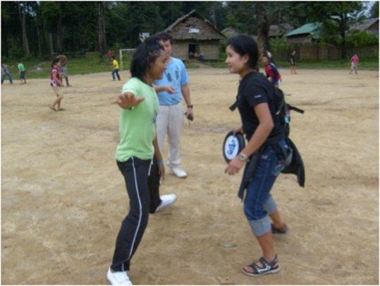 Nu Poe Camp Teens for Kids Ulitmate Tournament