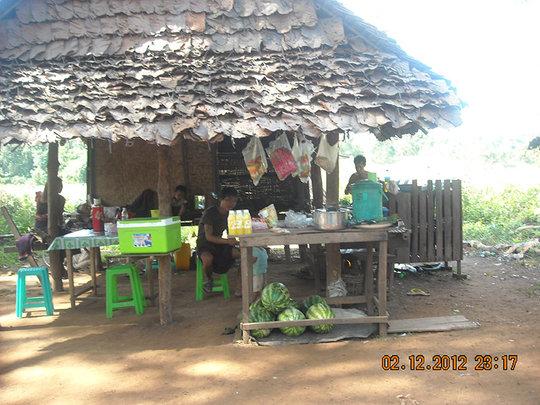 Yaba sold in shop in Karen State. Credit: KHRG