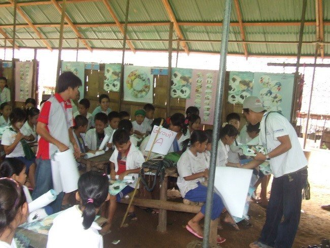 Prevention Education in a school classroom