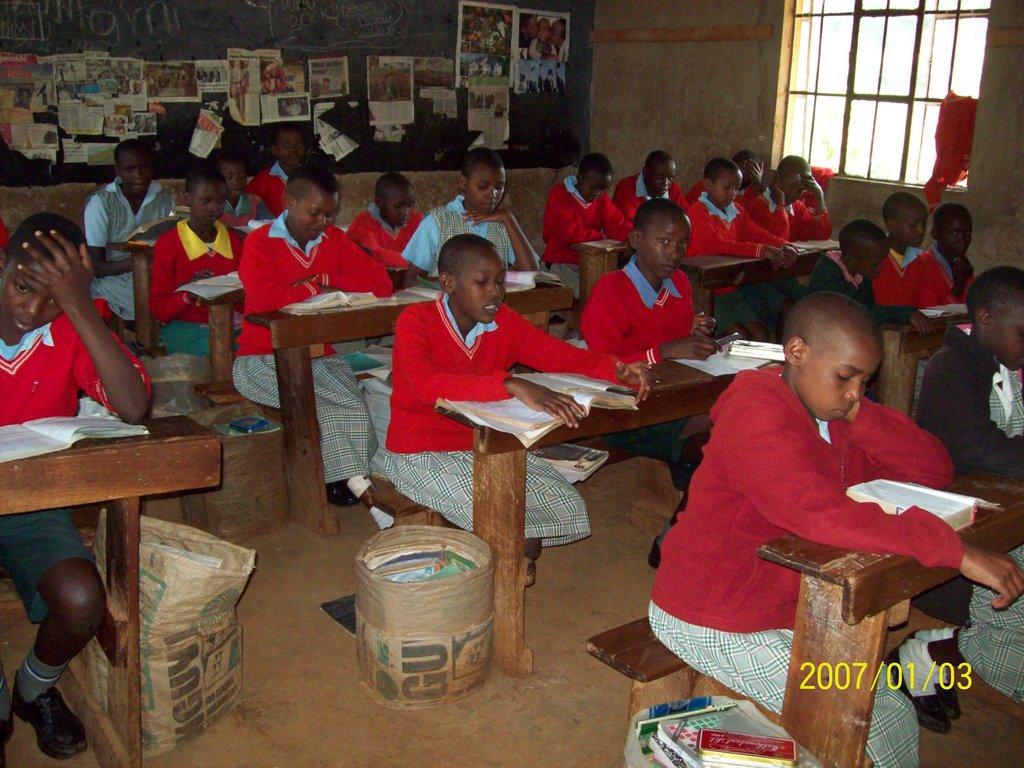 Educate 100 Orphans at Kimori in Kenya