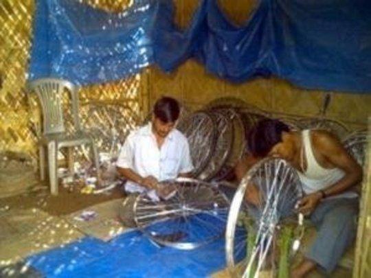 Rickshaw Assembling Unit