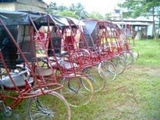 Fleet of Rickshaws: Ready to be on Roads